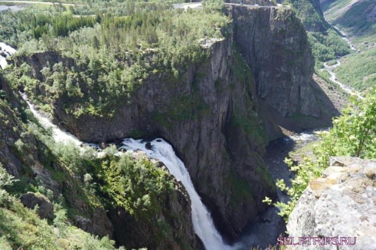 Водопады Норвегии: Твиндефоссен, Вёрингфоссен,Tveitafossen и Лотефосс