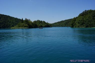Плитвицкие озера. Озера хорватские, сервис советский