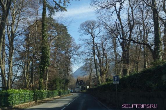 Через Швейцарию на машине