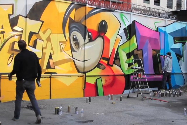 craola self lyte containeryard dtla los angeles jordan ahearn video youtube january 2015