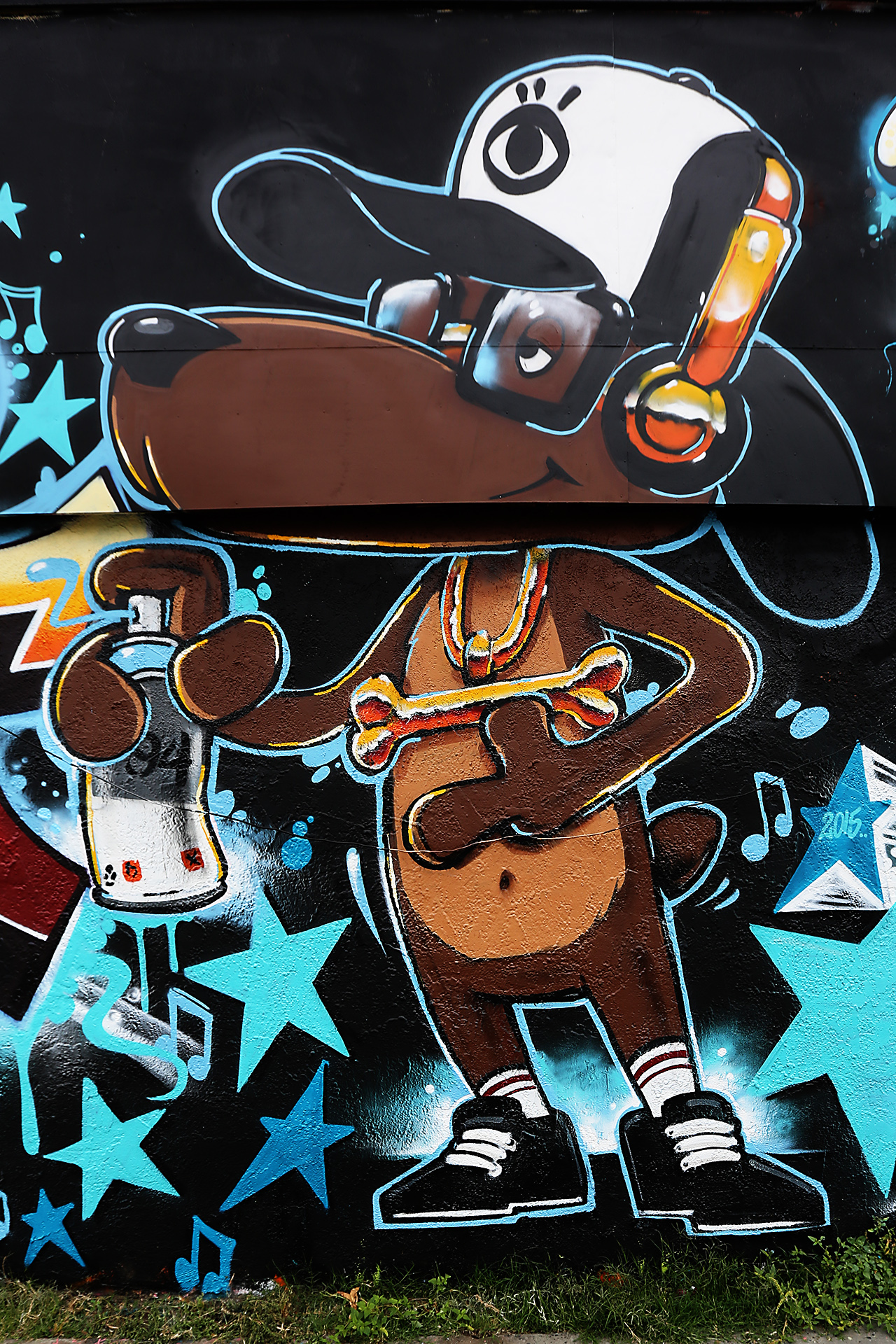 self uno commission paulys project mural art selfuno los angeles may 2015
