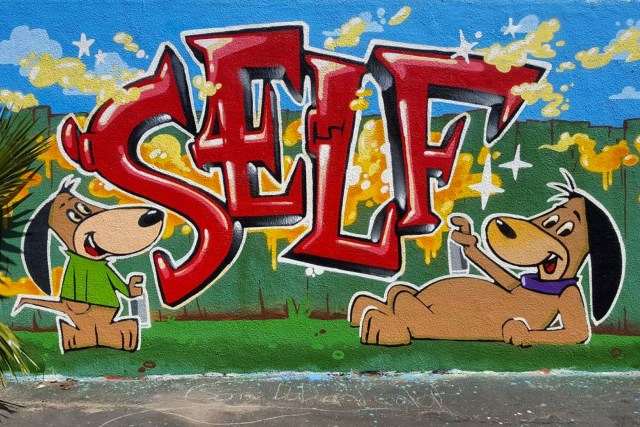 self selfuno auggie doggie doggy daddy graffiti los angeles east hollywood wall april 2016