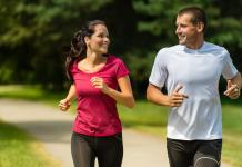 running helps stay in shape