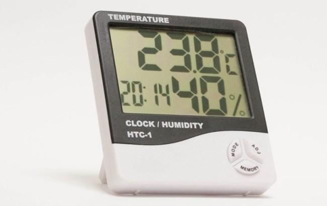 Термометр и гигрометр