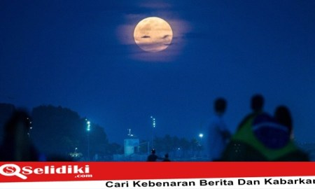 Gerhana Bulan Total Blood Moon Indonesia Terlama Abad ini