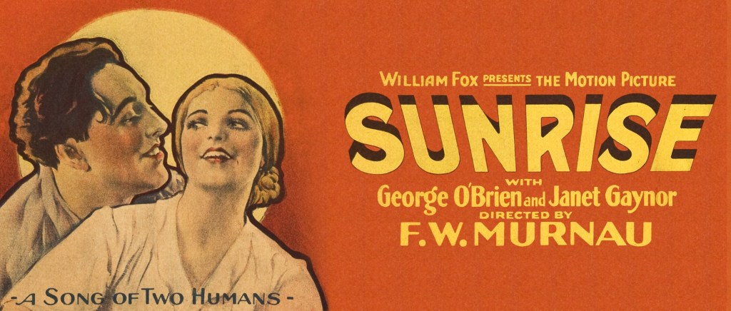 SUNRISE (1927) poster