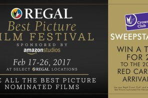 See all Oscar®-nominated Best Picture Films at the Regal Best Picture Film Festival