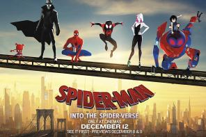 SPIDER-MAN:  INTO THE SPIDER VERSE – A Review by Gadi Elkon
