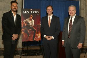 Kentucky Governor Andy Beshear Unveils 2020 Official Visitor's Guide Cover Featuring J.D. Shelburne