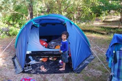 camping near Bordeax, France http://www.selimsraasta.com/2014/06/23/amidst-black-bulls-white-horses-and-pink-flamingoscamping-around-southwest-france/