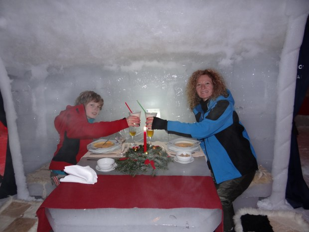 Dinner at the Hotel of Ice