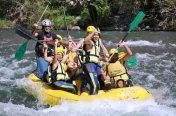white water rafting in Spain