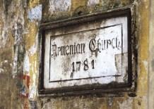 Armenian Church sign