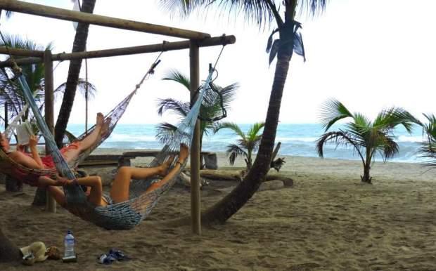 Costeno Beach Hammocks