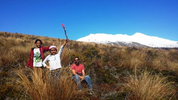 Shama being 'Gandolphete' with her staff