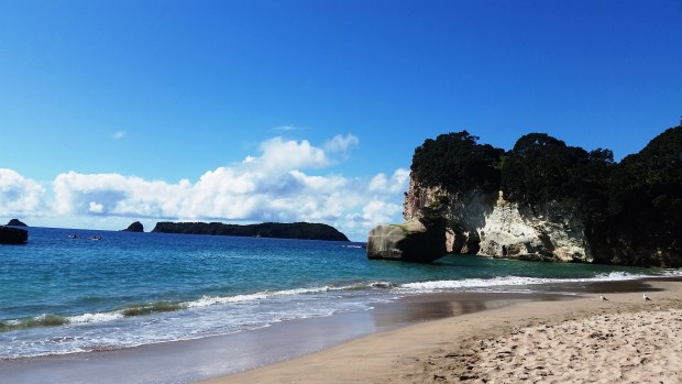 Visiting Cathedral Cove Off Season