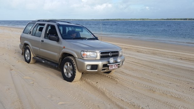 Noosa2Fraser 4WD Vehicle - Perfect for driving on Fraser Island