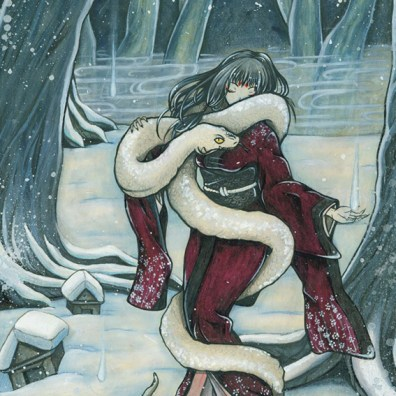 Schneetreiben