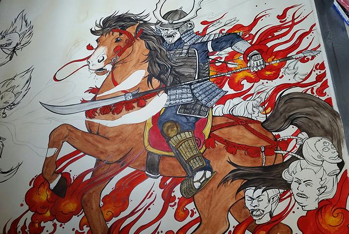 Samurai WIP