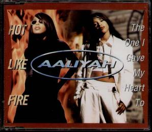 "Missy Elliott appears on ""Hot Like Fire"": Aaliyah sang over Timbaland ad libs and hip hop samples."