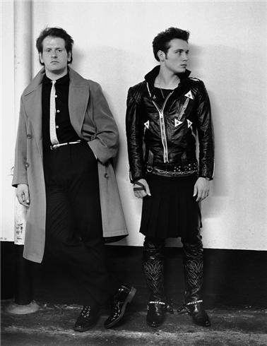 Adam Ant and Marco Pirroni, London, England, 1980 © Janette Beckman, 1980 Adam Ant and Marco Pirroni, Soho, London, 1981. Photo is the copyright of Janette Beckman. Website: morrisonhotelgallery.com