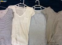 4 casual shirts.