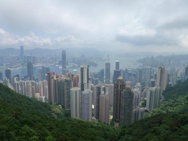 View from the Peak from my trip to Hong Kong 3 years ago.