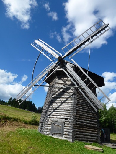 Windmill at the museum.