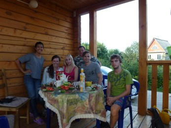 Our awesome hosts in Perm!