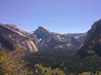 Views from the Upper Yosemite Falls Hike.