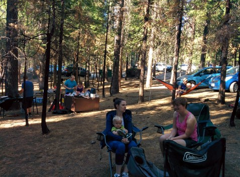 A view of our campground.