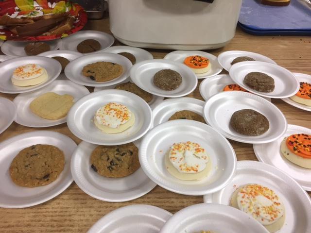 photo of Halloween supper cookies