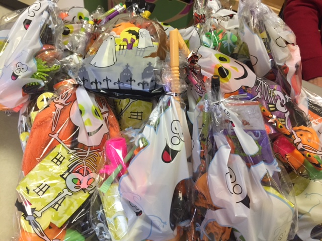 photo of Halloween supper goodie bags