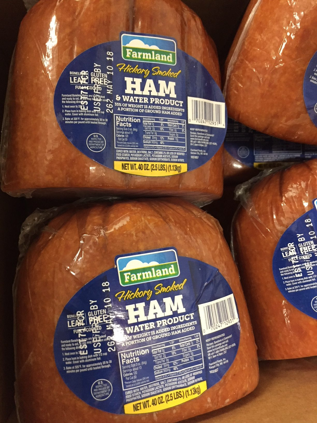 Photo of Easter ham