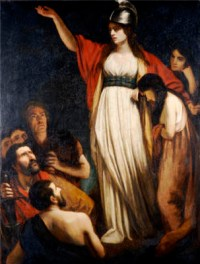 Queen Boudicca of the Iceni (Liberator of London)