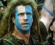 Mel Gibson as William Wallace, Braveheart