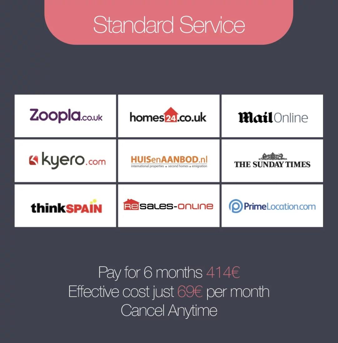 Standard Service - 6 Months