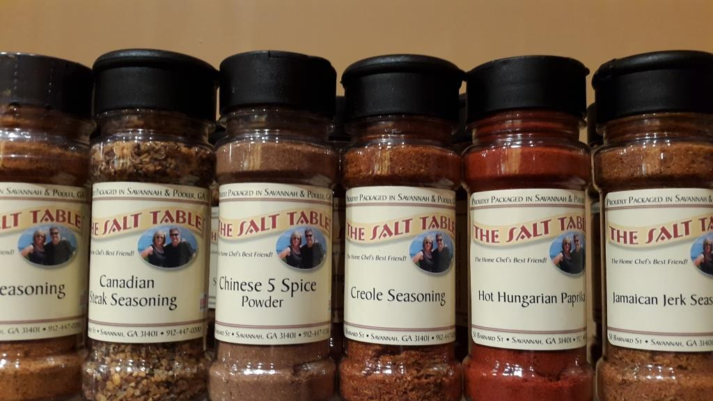 The Salt Table in Savannah