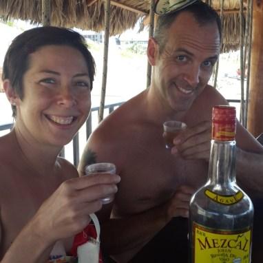 mezcal-shots