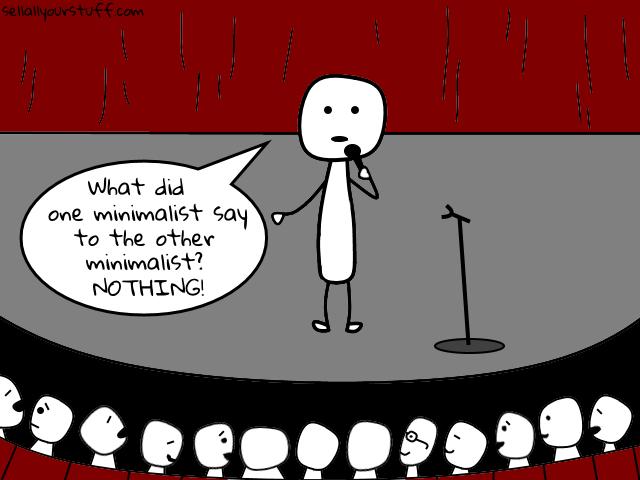 minimalist jokes