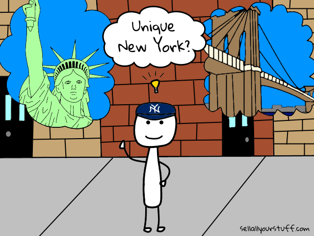 image of unique New York