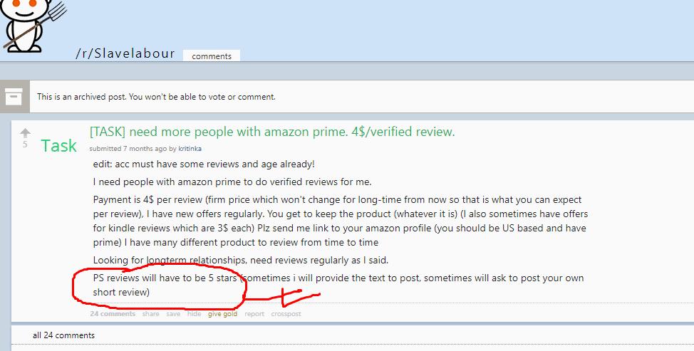 buying fake amazon reviews