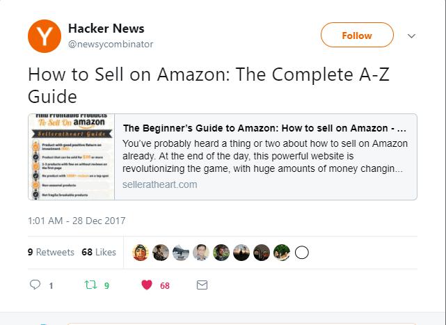 promote on hacker news
