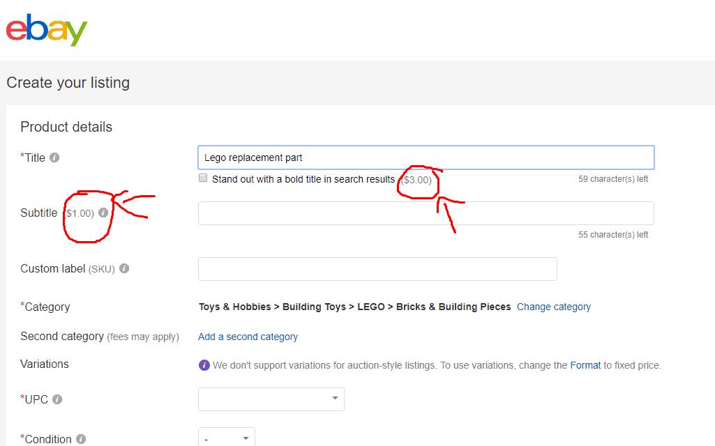 ebay headline
