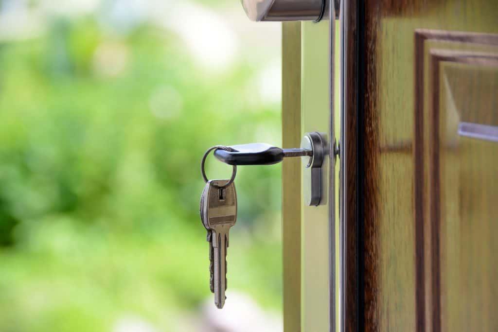 Keys in a lock