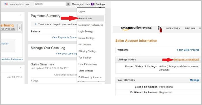 www seller central amazon