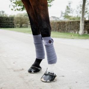 Kentucky Horsewear Bandes Polo Polaire Velvet Violet En Cadence