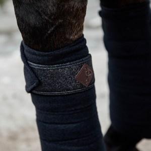 Bandes Polo Polaires Noir Glitter Kentucky