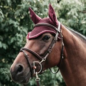 Bonnet Corduroy Bordeaux Kentucky En Cadence