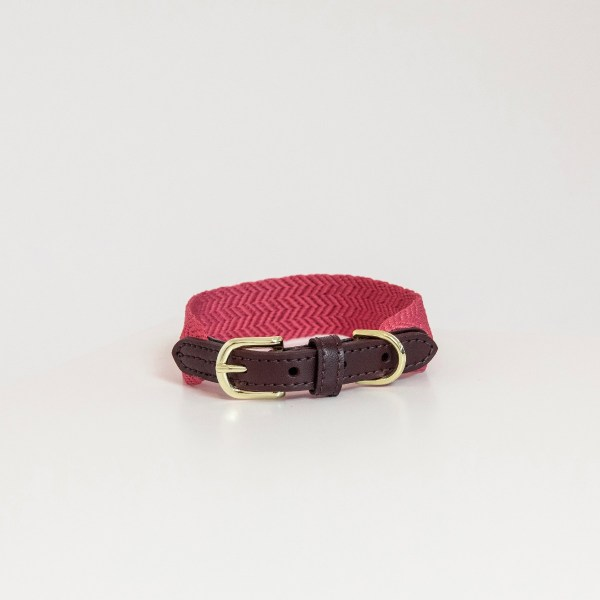 Collier Jacquard Fuschia Kentucky Horsewear Dogwear